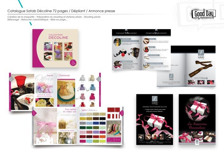 Catalogue, dépliant, annonce presse