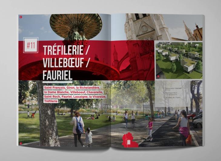 Graphiste brochure saint-tienne Monistrol Haute-Loire