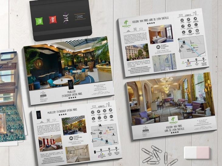 brochure création graphique hôtel Accor graphiste Monistrol Haute-Loire 43